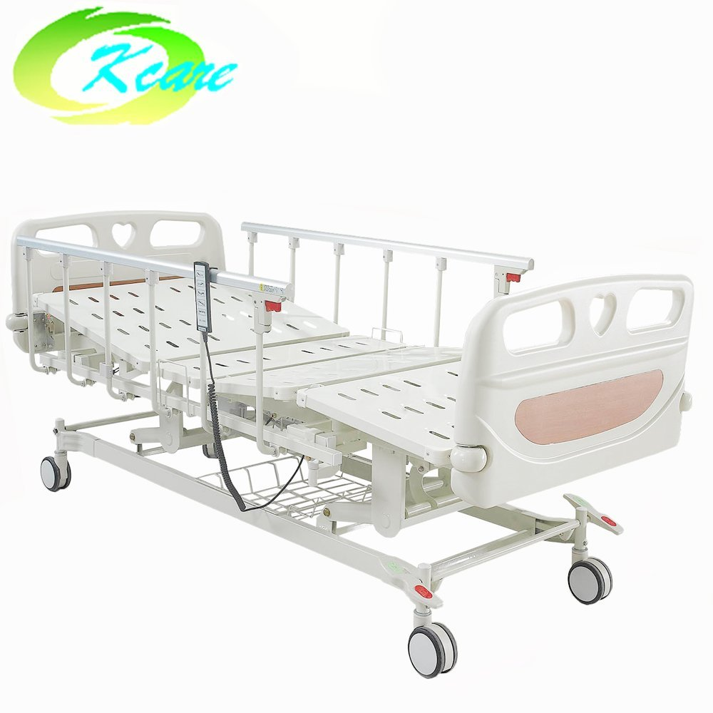 Electric 5 Functions Hospital Bed with Side Brake Castor GS-858(C)