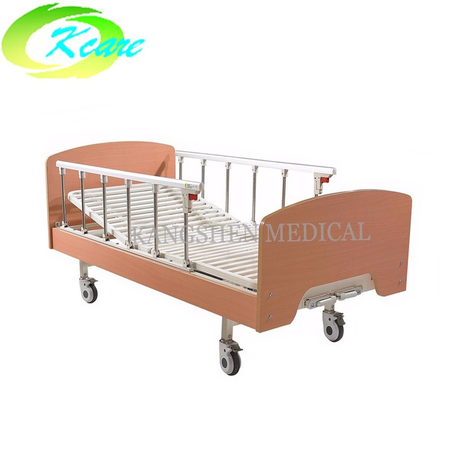 Best two-function manual home hospital bed for elderly KS-342-2