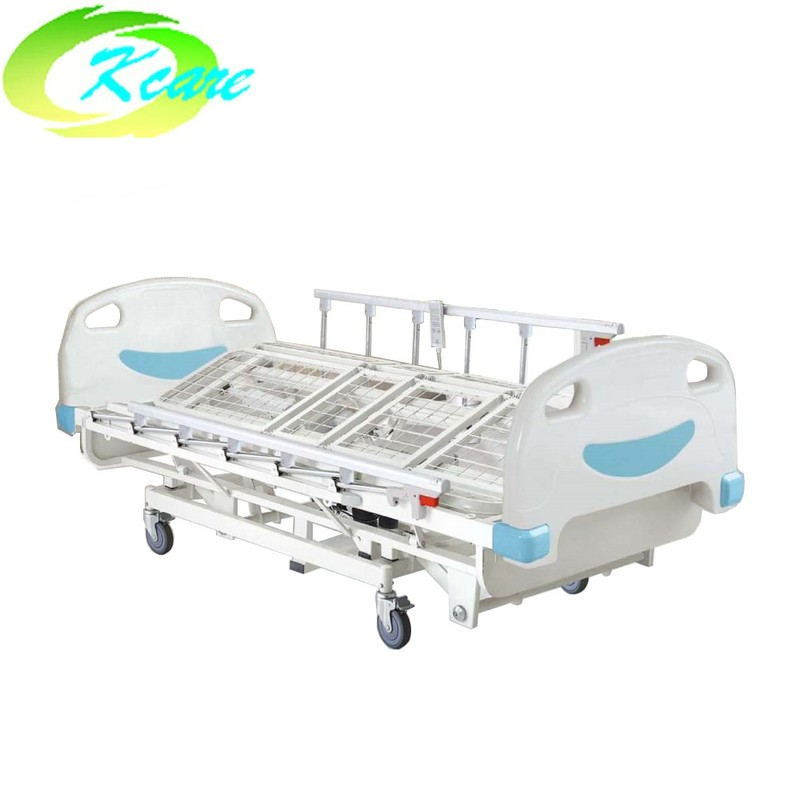 Electric five-function medical hospital rolling care bed for sale KS-803-5