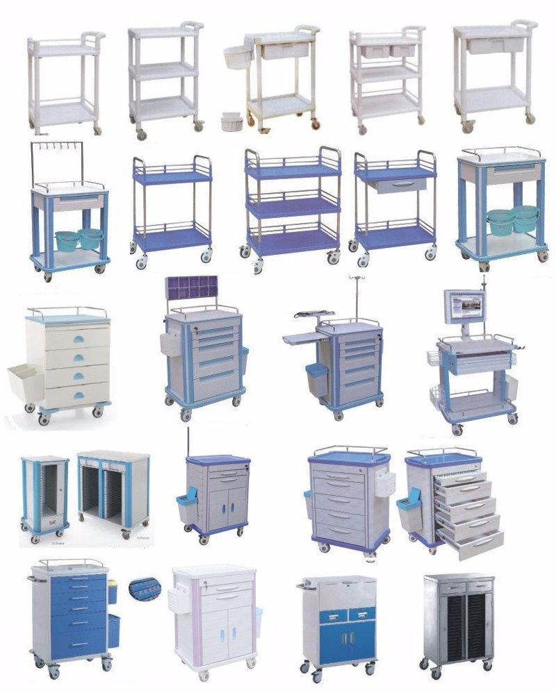 linen trolley Kangshen Medical Brand medical equipment cart