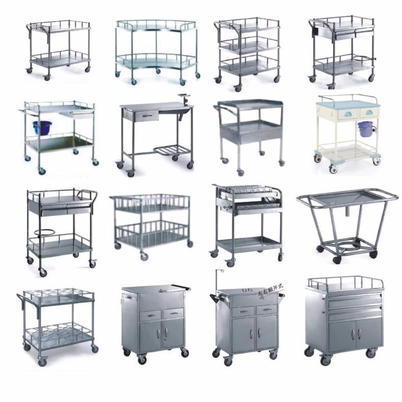 trolley cart abs medical trolley with drawers hospital Kangshen Medical Brand