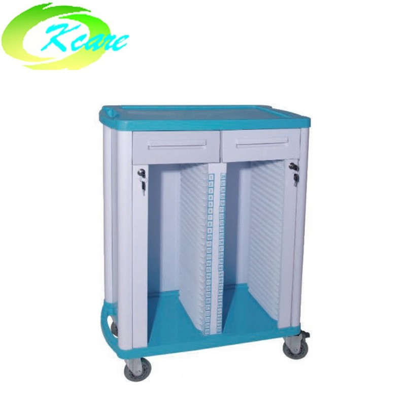 ABS Patient Record Trolley With Drawer KS-C01a