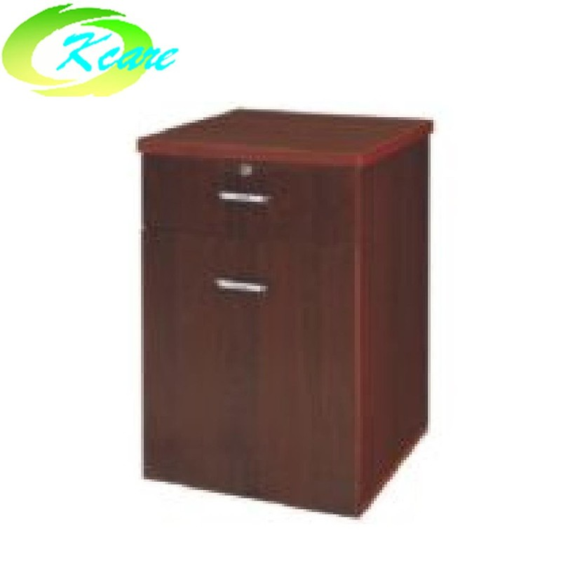 Hospital furniture supplier hospital wooden bed side cabinet  KS-C30