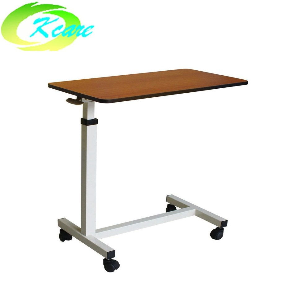 cheap plywood over bed table with wheels KS-D05c