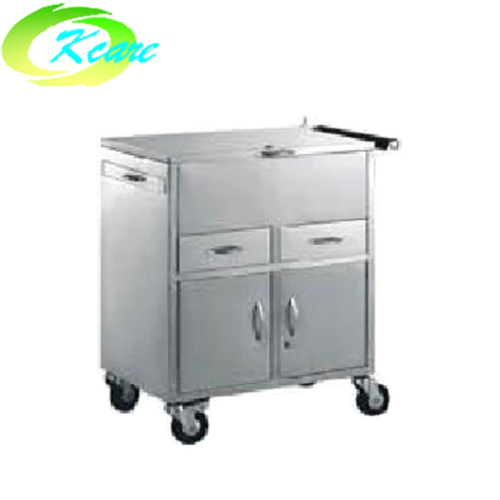 Stainless steel medical equipment emergency cart KS-B25
