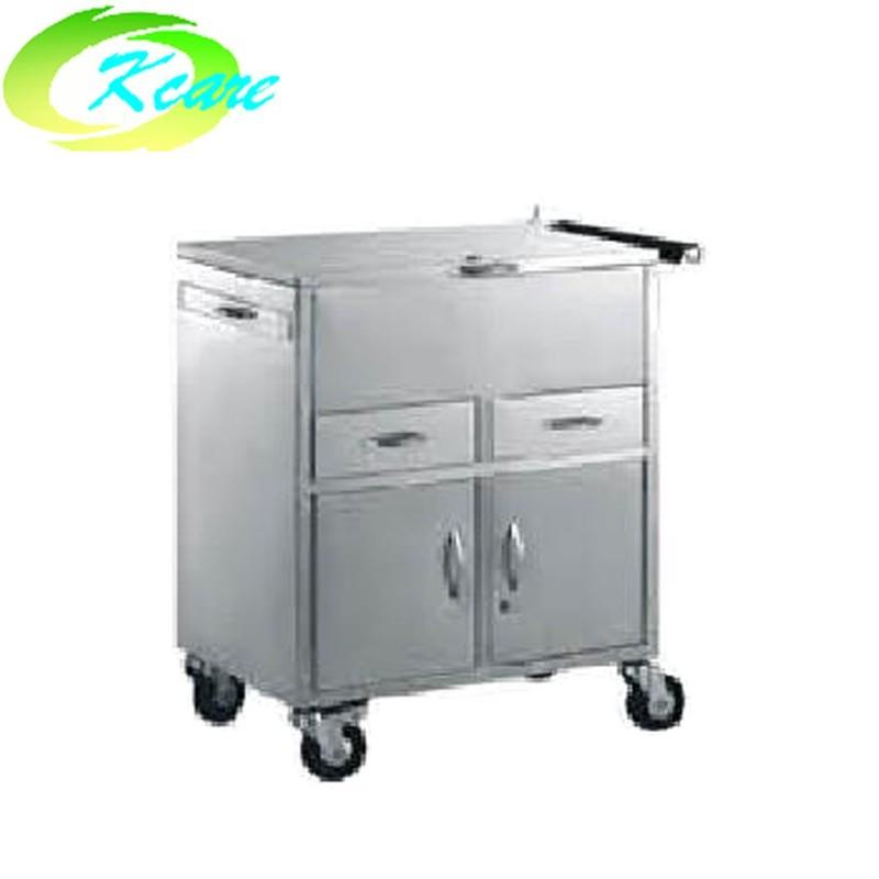 Stainless steel medical equipment emergency cart KS-B25