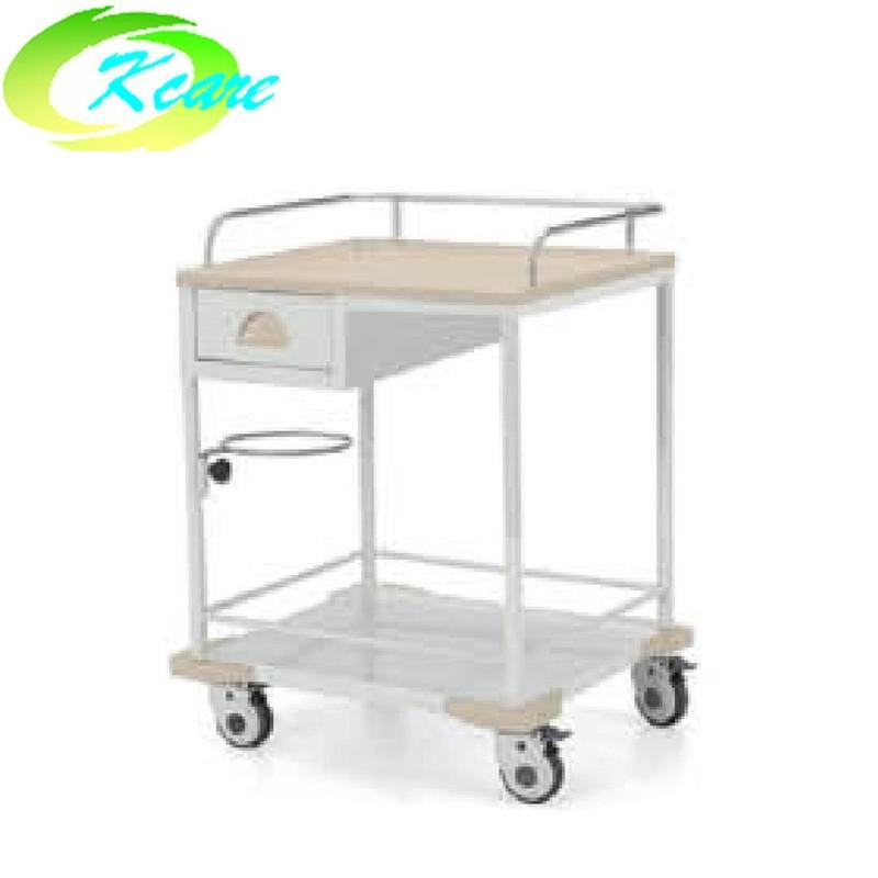 Steel single drawer hospital treatment trolley KS-B13a