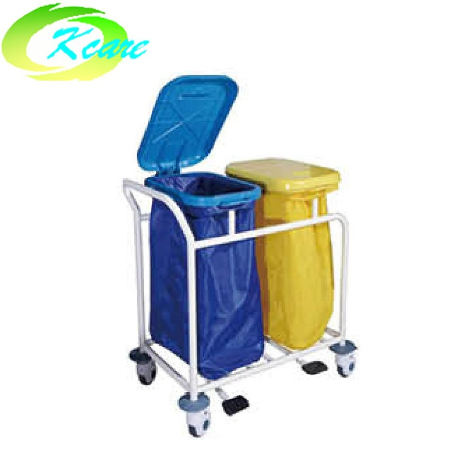 Steel hospital clean trolley KS-B202