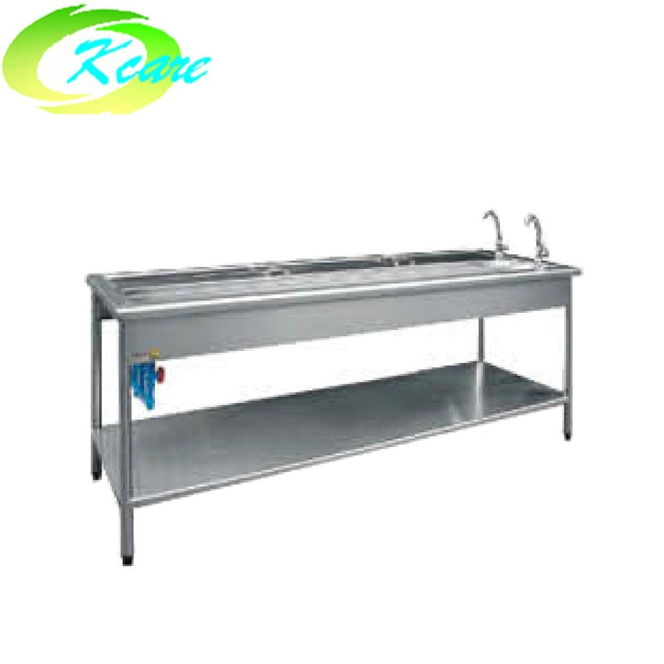 Stainless steel hospital I style sterilized sink for gastrointestinal KS-C03