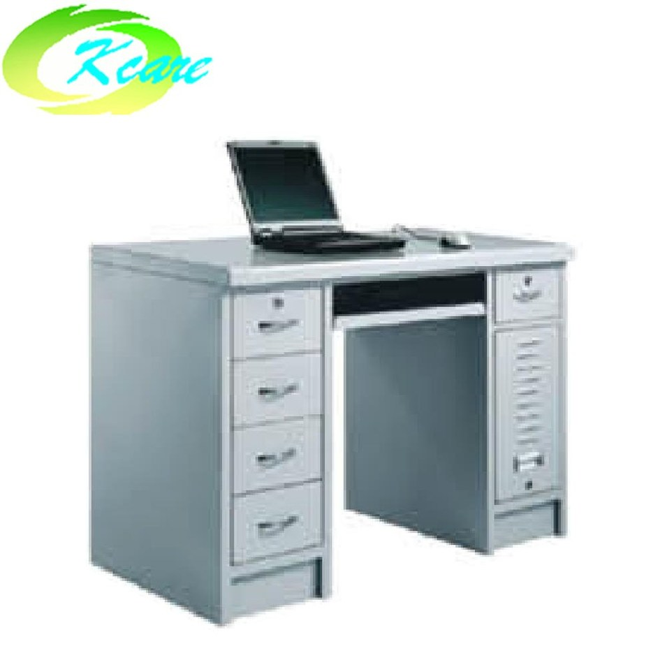 Stainless steel hospital  computer distributing desk KS-C14
