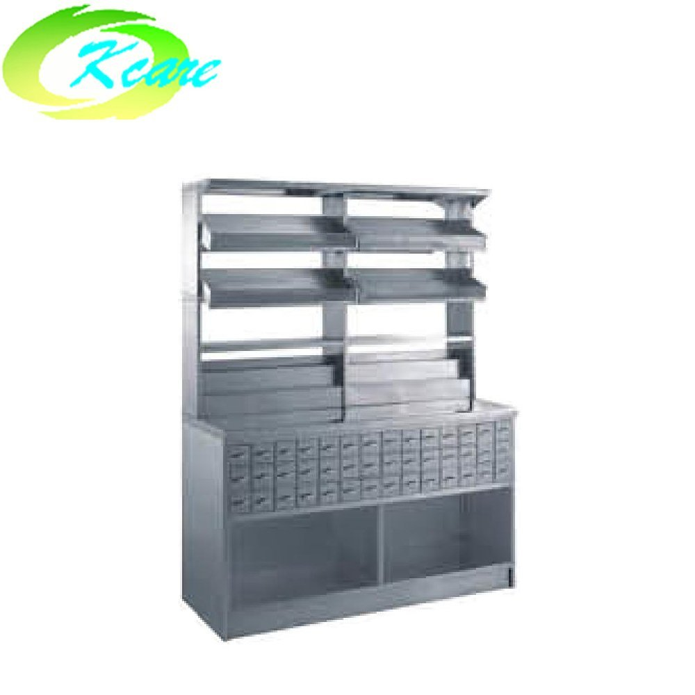 Stainless steel hospital  double-face medicine cabinet KS-C17