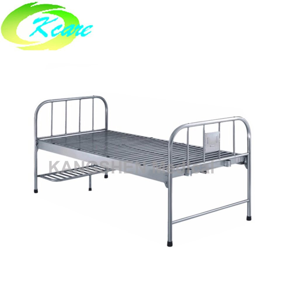 Kangshen Medical S.S. head and foot board steel one-crank hospital bed KS-215 S.S. Hospital Bed image32