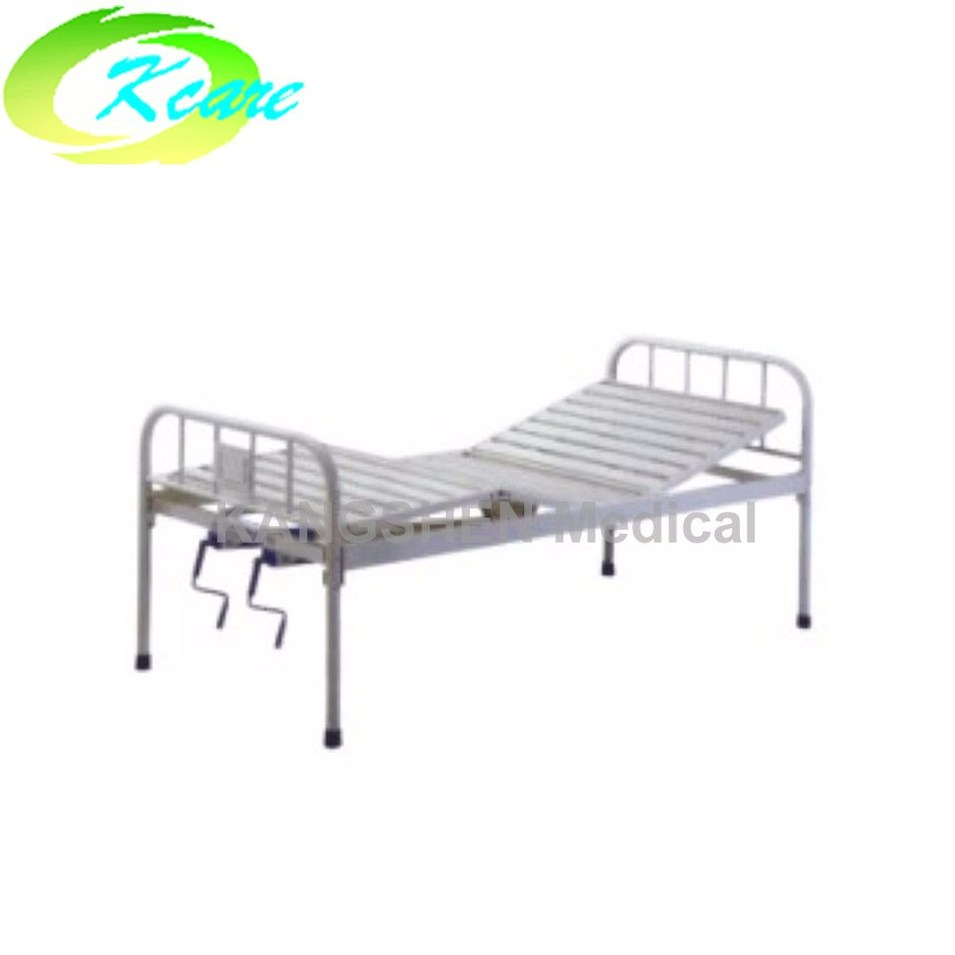 Steel two cranks manual hospital bed  KS-325