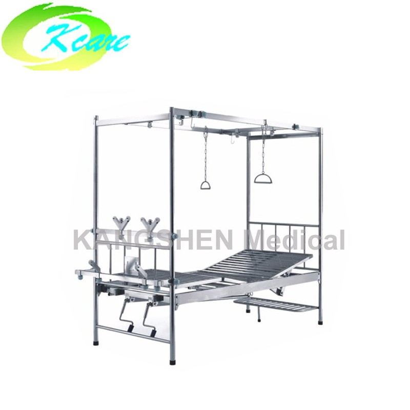 S.S. 2-crank manual hospital orthopedics bed KS-522