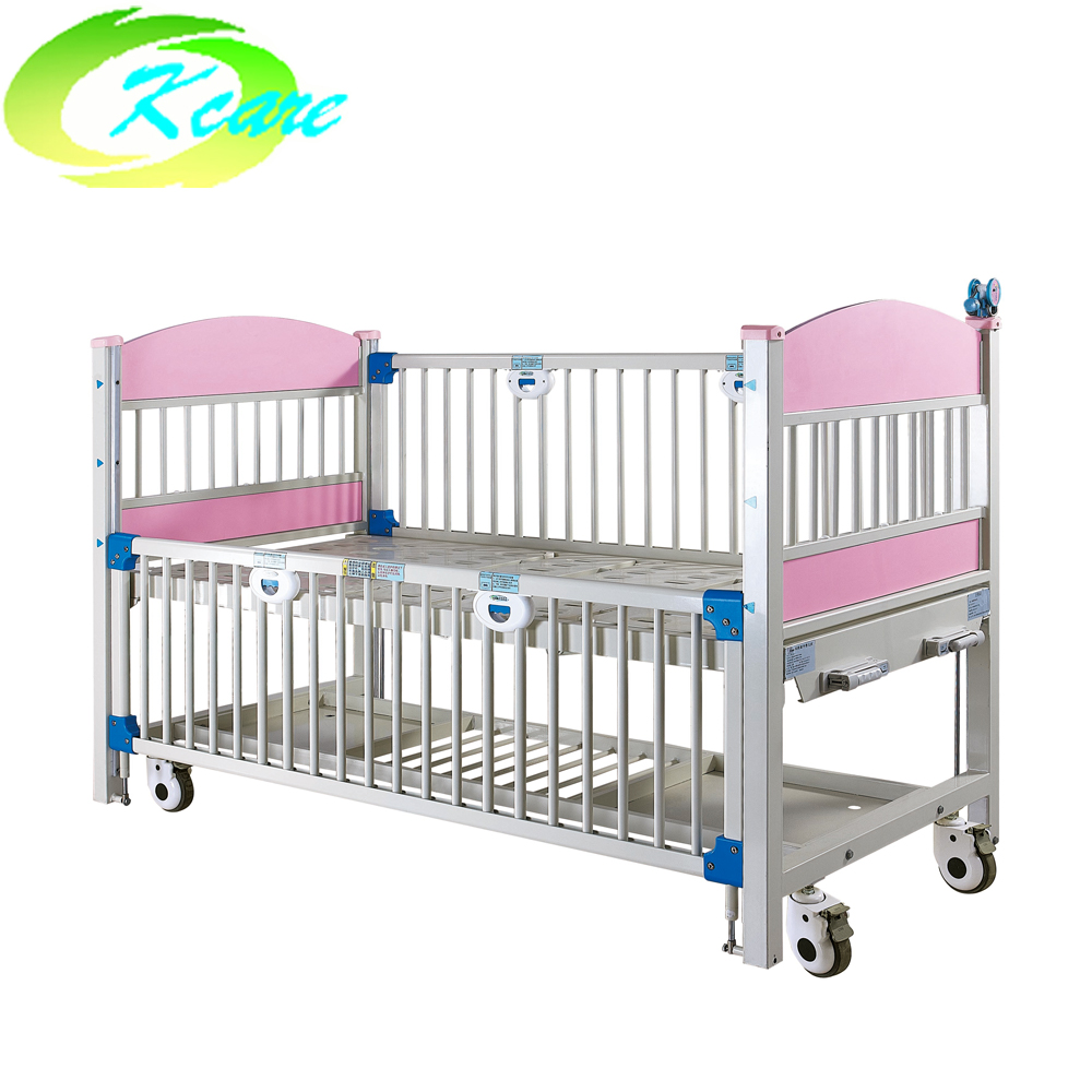 Kangshen Medical Two-crank manual luxury hospital children bed KS-911-2 Hospital Beds for Children image14