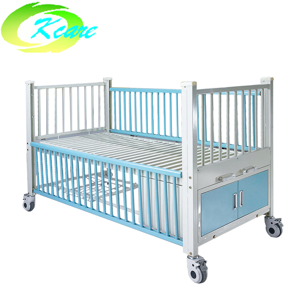 Kangshen Medical Two-function manual hospital children bed with 2 crank KS-S205et Hospital Beds for Children image13