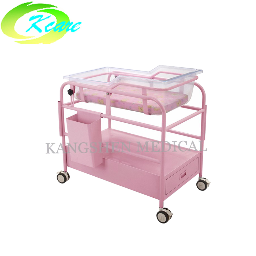 Deluxe baby trolley bed with drawer  KS-A26