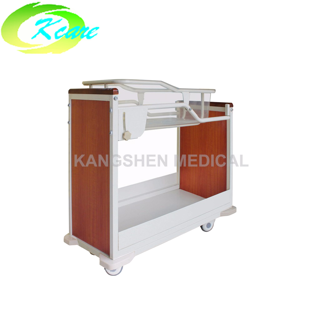 Kangshen Medical One function baby trolley with tilting function KS-S105ye Hospital Beds for Children image6