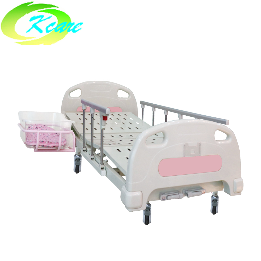 Kangshen Medical Two function manual baby bed KS-201my Hospital Beds for Children image4
