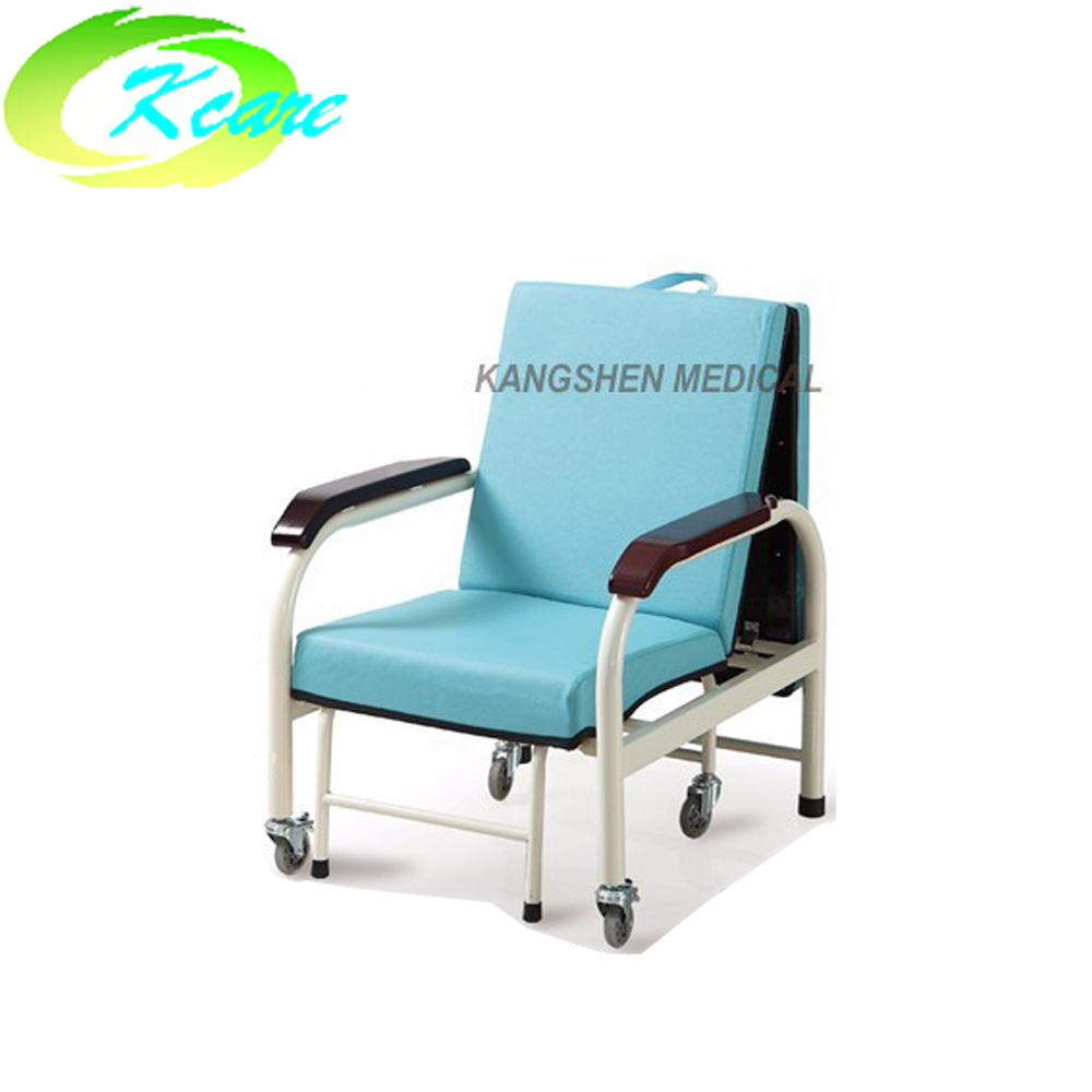 PVC hospital  recliner chiar sofa bed sleeping chair KS-D40