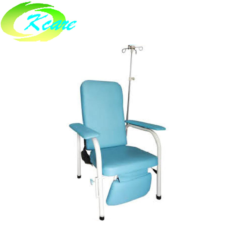 Steel recliner infusion chair for hospital used KS-D38c