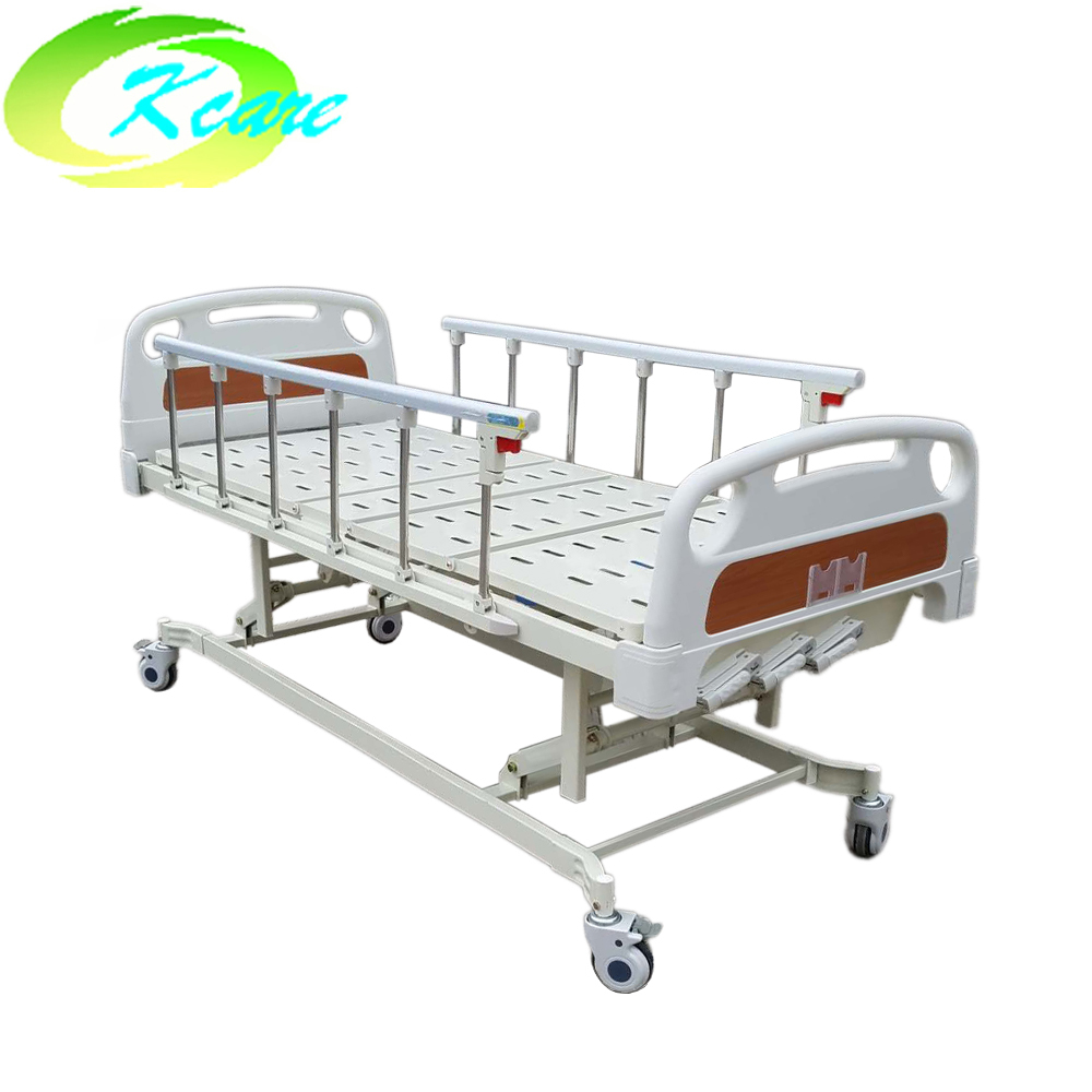 Kangshen Medical Manual hospital bed icu bed with three crank KS-632-1 Manual Hospital Bed image3