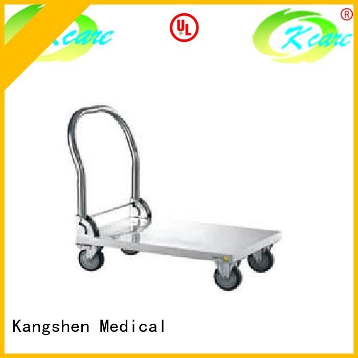 single patient hospital trolley wheels line Kangshen Medical company