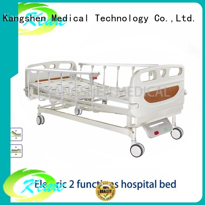 Kangshen Medical Brand price guardrail electric hospital bed manufacture
