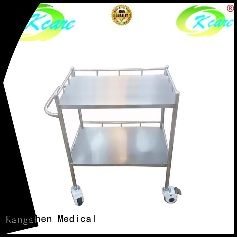 sale clean hospital trolley single Kangshen Medical Brand company