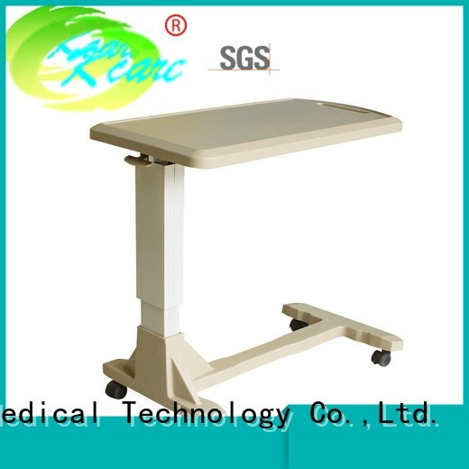 hospital bed tray table vanity Kangshen Medical Brand