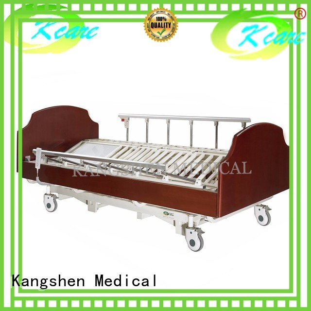 electric hospital bed for home use wood soild Warranty Kangshen Medical