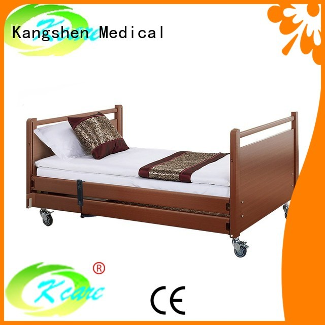 frame electric wooden wood hospital beds for home use Kangshen Medical