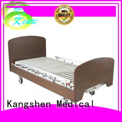 electric function wooden medical hospital beds for home use Kangshen Medical