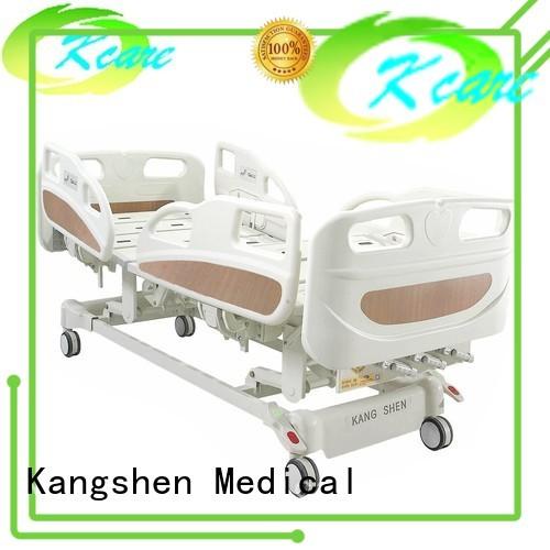 Kangshen Medical Brand adjustable one pp manual hospital bed manufacture