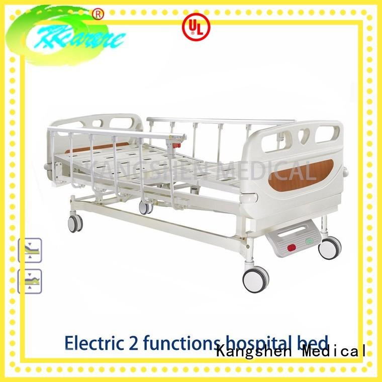abs aluminum rails electric hospital bed Kangshen Medical Brand