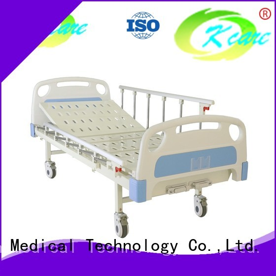 Kangshen Medical Brand central cranks manual hospital bed price furniture supplier