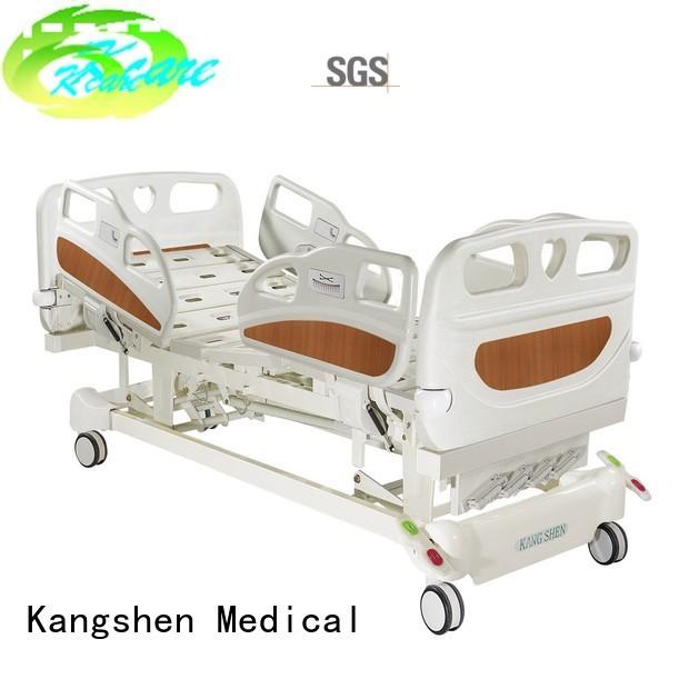 cranks double functions Kangshen Medical Brand manual hospital bed supplier