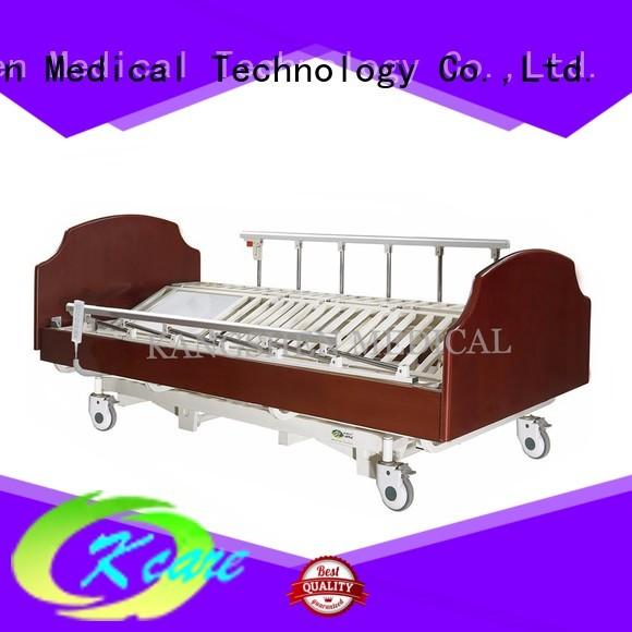 Kangshen Medical Brand solid frame home custom electric hospital bed for home use