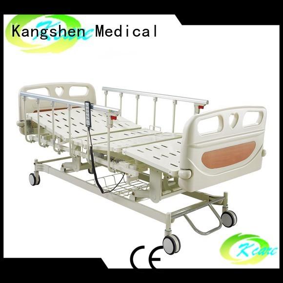 adjustable electric beds for sale brake function electric hospital bed Kangshen Medical Brand