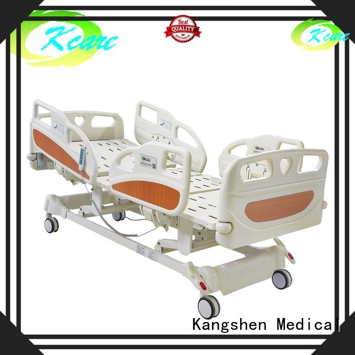 Kangshen Medical Brand fivefunctions cpr weight adjustable electric beds for sale medical