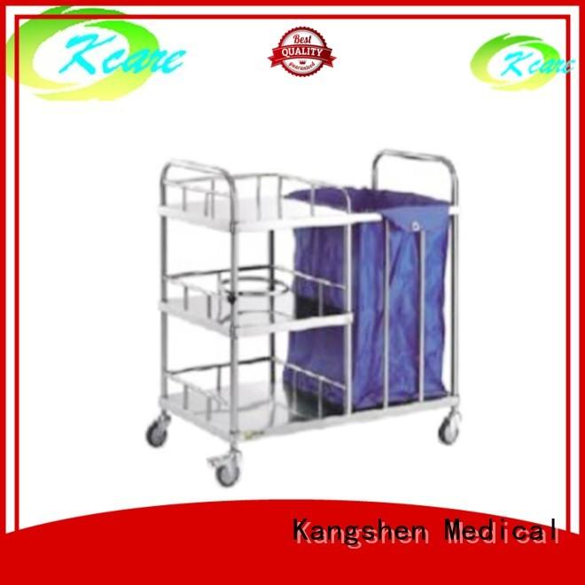 two-shelf sale medical Kangshen Medical Brand medical equipment cart manufacture