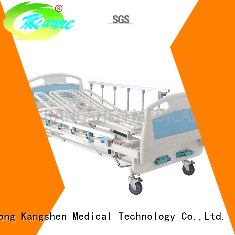 castors examination manual hospital bed operated deluxe Kangshen Medical company