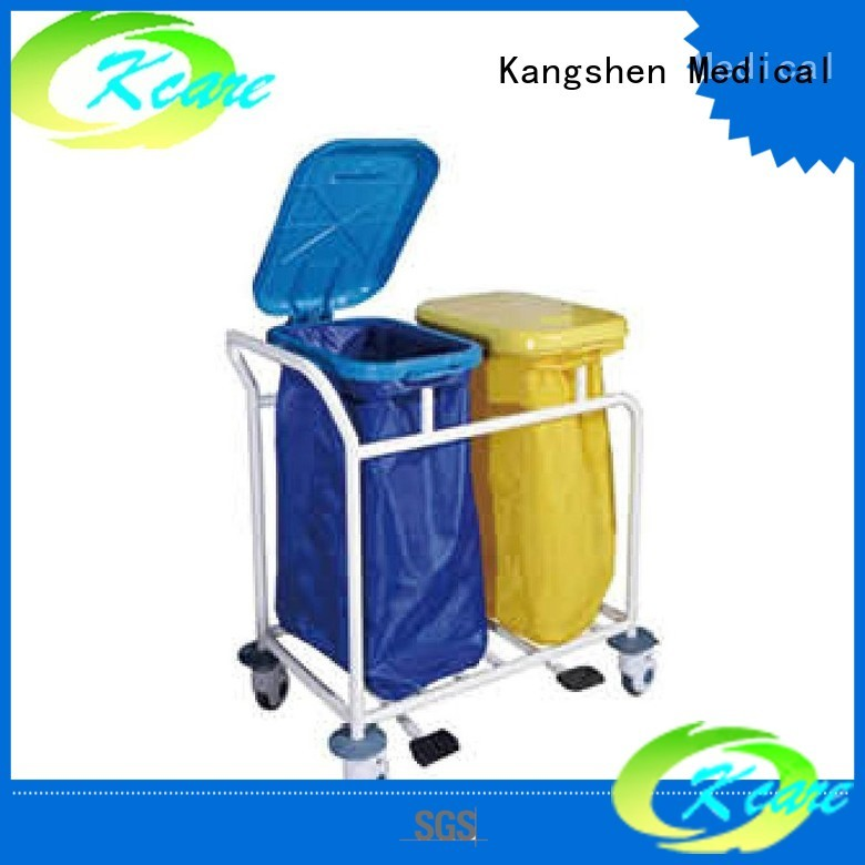 patient deluxe hospital trolley abs&steel Kangshen Medical Brand