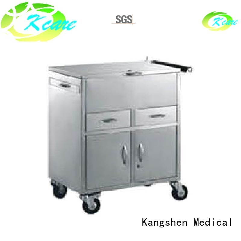 medical equipment cart line three stainless Kangshen Medical Brand company