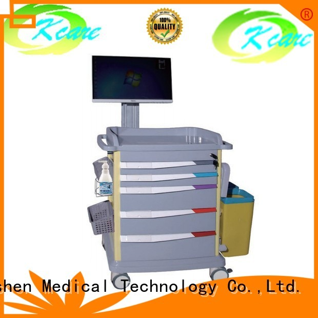 hospital abs medical cart manufacturers treatment emergency Kangshen Medical Brand