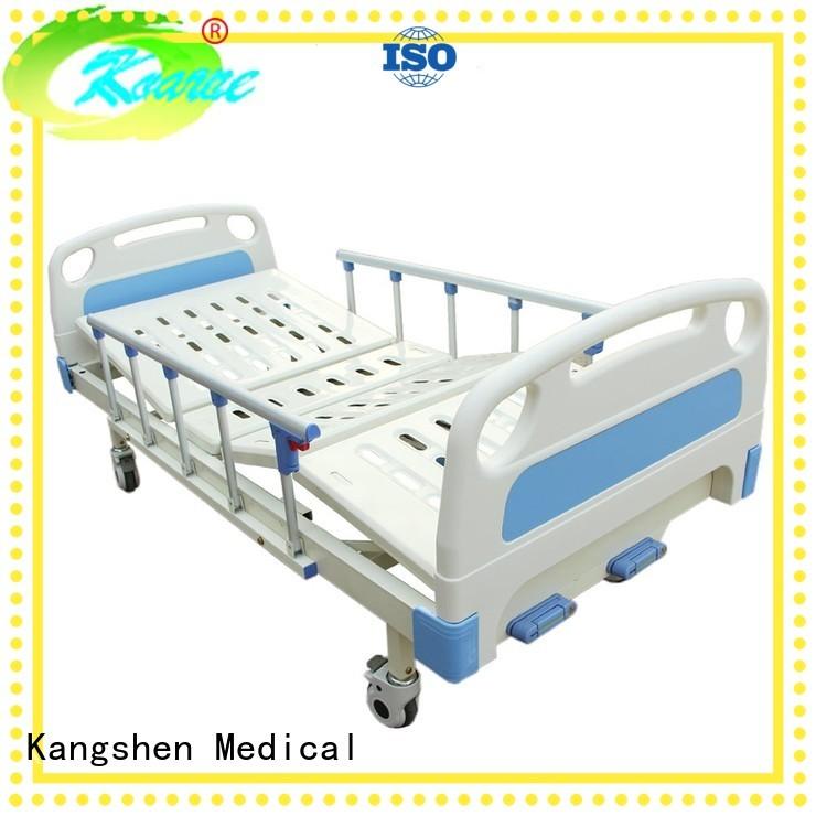 examination height manual hospital bed lift Kangshen Medical Brand company