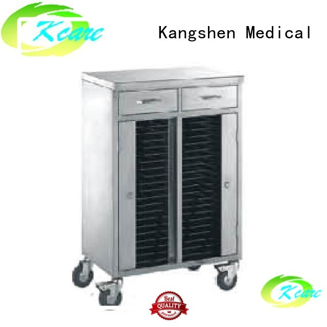 medical equipment cart steel drawer Bulk Buy single Kangshen Medical