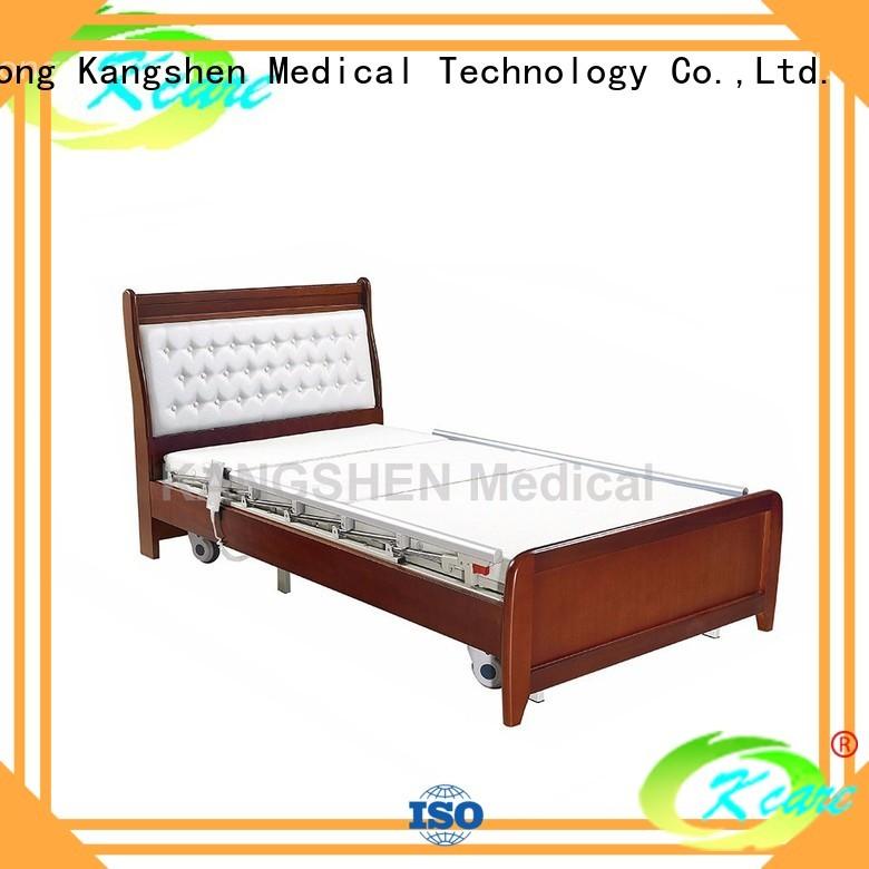 Wholesale soild electric hospital bed for home use frame Kangshen Medical Brand
