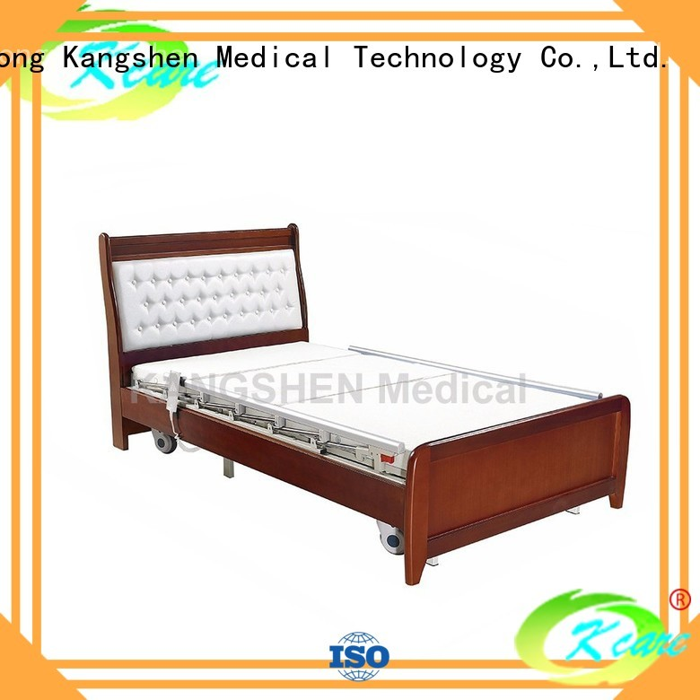 elderly medical three hospital beds for home use Kangshen Medical Brand company