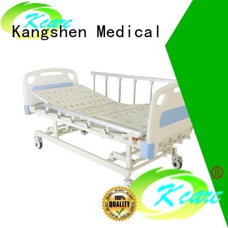 Quality Kangshen Medical Brand electric vertical manual hospital bed